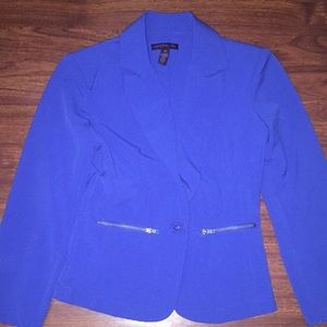 Material Girl Royal Blue Blazer